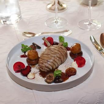 Gourmet Speise im Detail