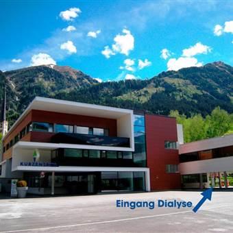 Dialyse-Eingang