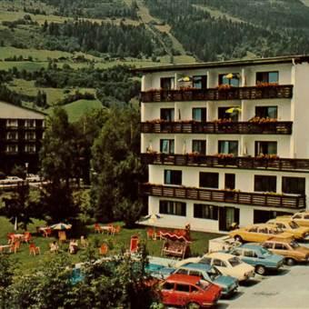 Hotel Außenansicht im Jahr 1976