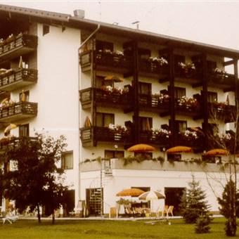 Hotel Außenansicht im Jahr 1981