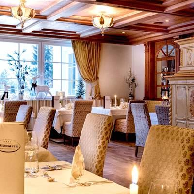 Bismarckstube im Hotel Bismarck